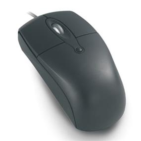 iCAN M14 Wired Optical USB Mouse - Black/Gray