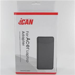 iCAN Replacement Acer/Gateway PA-1650-02 Compatible AC Adapter 65 Watt 19V 3.42A