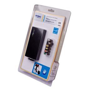 Antec SNP90, Notebook Power Adapter - 90 Watts, Slim Design