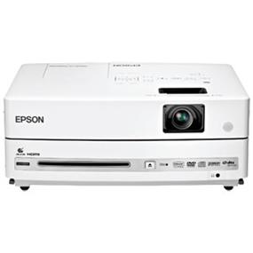 Epson PowerLite Presenter, Multimedia Projector/DVD Player Combo - 3LCD, WXGA, 2500 Lumens, 3000:1 Contrast, VGA, HDMI, USB, Digital Audio Output, 9.5 lb