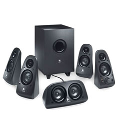 Logitech Z506 (980-000430) -- 5.1 Surround Speaker System (Retail Box)