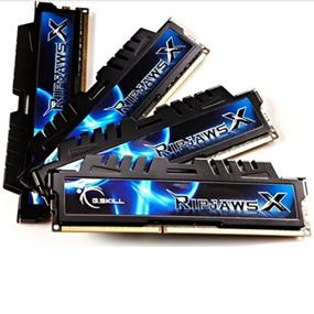 G.SKILL Ripjaws X Series 16GB (4x4GB) DDR3 1333MHz CL7 Quad Channel Kit (F3-10666CL7Q-16GBXH)