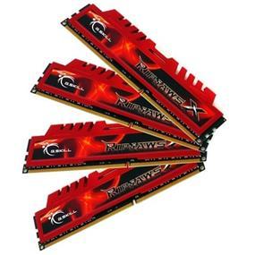 G.SKILL Ripjaws X Series 16GB (4x4GB) DDR3 1600MHz CL9 Quad Channel Kit (F3-12800CL9Q-16GBXL)