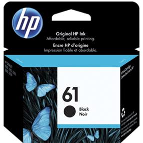 HP 61 Black Original Ink Cartridge (CH561WN)