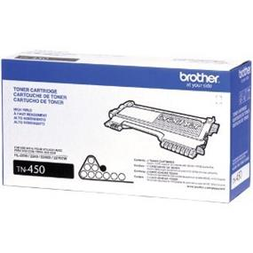 Brother TN450 High Yield Black Toner Cartridge