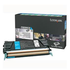 Lexmark C5220CS Cyan Return Program Toner Cartridge