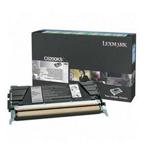 Lexmark C5200KS Black Return Program Toner Cartridge