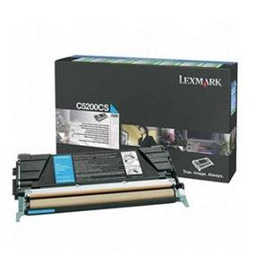 Lexmark C5200CS Cyan Return Program Toner Cartridge