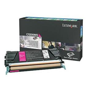 Lexmark C5200MS Magenta Return Program Toner Cartridge