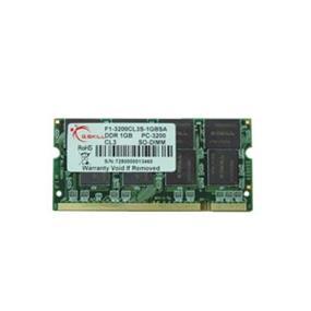 G.SKILL 1GB DDR 333MHz CL3 SODIMM Memory (F1-2700CL3S-1GBSA)