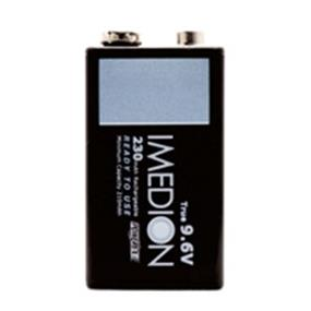 Powerex Imedion 9V Pre-Charged 230mAh (9.6V Low Self Discharge) NiMH Rechargeable Battery (MHR9VI)