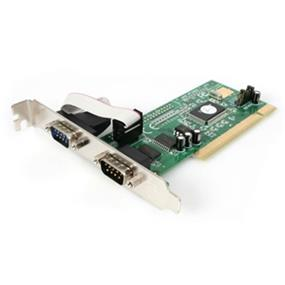 StarTech PCI2S550 2 Port PCI RS232 Serial Adapter Cards with 16550 UART PCI 2.1