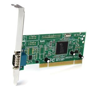 StarTech PCI1S950DV 1 Port PCI RS232 Serial Adapter Card w/ 16950 UART - Dual Voltage