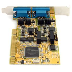 StarTech PCI2S232485I 2 Port RS232/422/485 PCI Serial Adapter Card w/ ESD Protection