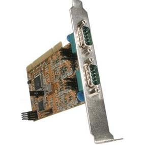 StarTech PCI2S485 2 Port PCI RS422/485 Serial Adapter Card with DB9