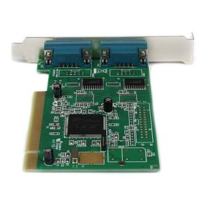 StarTech PCI2S950 2 Port PCI RS232 Serial Adapter Card with 16950 UART