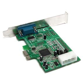 StarTech PEX1S552 1 Port Native PCI Express RS232 Serial Adapter Card with 16550 UART