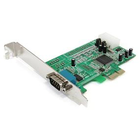StarTech PEX1S553 1 Port Native PCI Express RS232 Serial Adapter Card with 16550 UART