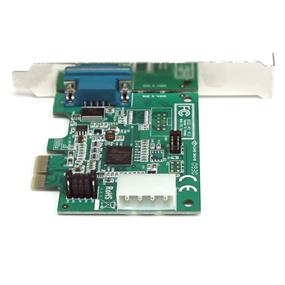 StarTech PEX1S952 1 Port Native PCI Express RS232 Serial Adapter Card with 16950 UART