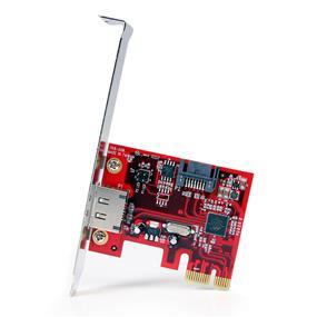 StarTech 1x eSATA + 1x SATA 6 Gbps PCI Express SATA Controller Card Adapter (PEXSAT31E1)