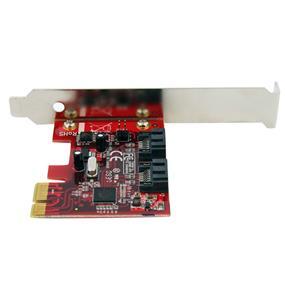 StarTech PEXSAT32 2 Port SATA 6 Gbps PCI Express SATA Controller Card