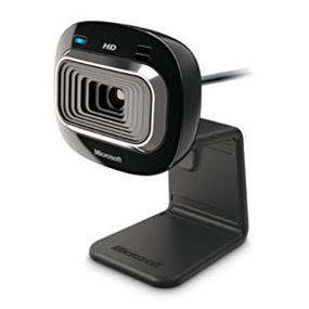 Microsoft (T3H-00002/T3H-00016) LifeCam HD-3000 True 720p HD Webcam