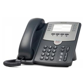 Cisco SPA501G 8-Line IP Phone with 2-Port Switch, PoE and Paper Label  1 x RJ-9 Handset, 2 x RJ-45 10/100Base-TX PoE, 1 x Sub-mini phone Headset