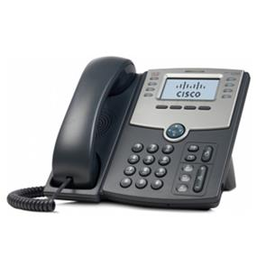 Cisco SPA508G 8-Line IP Phone with 2-Port Switch, PoE and LCD Display  2 x RJ-45 10/100Base-TX , Sub-mini phone Headset