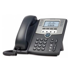 Cisco SPA509G 12-Line IP Phone with 2-Port Switch, PoE and LCD Display  1 x RJ-7 Headset, 2 x RJ-45 10/100Base-TX , 1 x Sub-mini phone Headphone