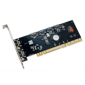 SYBA (I/O Crest) SATA II PCI-X 4 Ports Host Raid Controller Card SiL3124 chipset (SY-PCX40009)