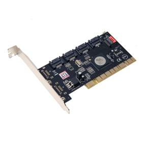 SYBA (I/O Crest) 4-port SATA II PCI Controller Card with Software RAID (SY-PCI40010)