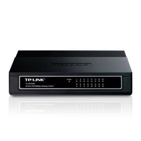 TP-LINK SOHO TL-SF1016D, 16-port Unmanaged 10/100M Desktop Switch