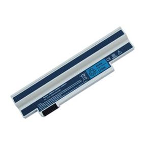 iCAN Compatible Acer Aspire One Laptop Battery 3-Cells (Samsung Cell) 2200mAH White Replacement for: P/N UM09H31,UM09H36,UM09H41,UM09G31,UM09G31,UM09H56,UM09H70,UM09H73,UM09H75