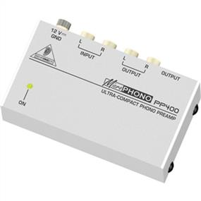 Behringer PP400 - Ultra-Compact Phono Preamplifier