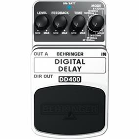 Behringer DD400 - Digital Delay/Echo Pedal