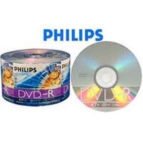 Philips DVD-R 16X 4.7GB Full Logo (Branded) Surface Bulk Colour Wrap 50pcs (DM4S6U50F/17)