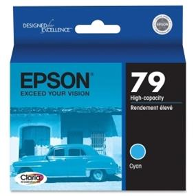 Epson 79 Cyan High Capacity Ink Cartridge