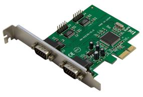 SYBA 4-Port DB-9 Serial (RS-232) PCI-e Controller Card, Moschip 9901 Chipset (SY-PEX-4S)