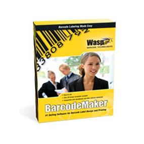 Wasp Barcode Maker - Barcode Software Generator, Single License (633808105167)