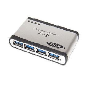Bytecc BT-UH340 Super-Speed USB 3.0 4-Ports Aluminum HUB