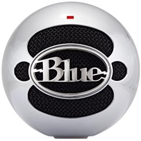 Blue Snowball - USB Condenser Microphone with Accessory Pack (Brushed Aluminum)