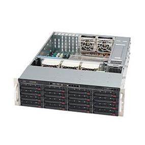 Supermicro SuperChasis 836E26-R1200B - 3U - 1200W PSU - 16XSAS/SATA Bays - Black