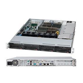 Supermicro A+ Server 1022G-NTF Black (Barebone) - 1U - Dual G34 - 16 x DDR3 DIMM - 4 x SATA 2.0 - 2 x LAN