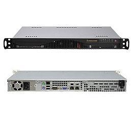 Supermicro A+ Server 1012C-MRF Black (Barebone) - 1U - AMD Opteron C32 - 4 x DDR3 DIMM - 4 x SATA2 - 2 x LAN - 350W PSU