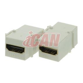 iCAN HDMI F/F Keystone Insert (KS HDMI-FF)