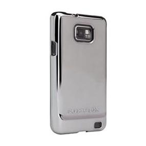 Case-Mate Barely There case for Samsung Galaxy S2 - Metallic Silver