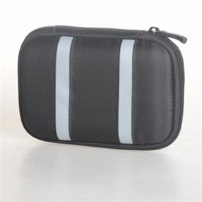 iCAN Compact Portable Hard Drive Case - black