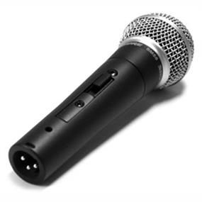 Shure SM58S - Cardioid Hanheld Dynamic Microphone with Switch