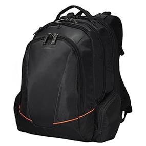 "Everki EKP119 Flight Checkpoint Friendly Backpack - Fits Up to 16"" Laptop, Black"
