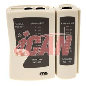 iCAN Cable Tester for RJ11 and RJ45 with Remote module (TL CBL-TESTER)